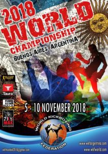 WKF World Championship Buenos Aires 2018